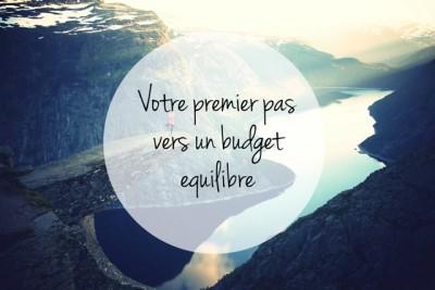Budget équibré
