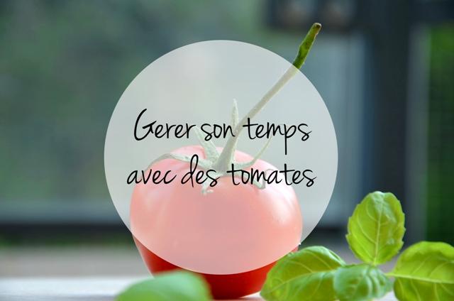 Gérer son temps avec des tomates