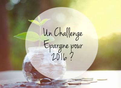 Challenge épargne