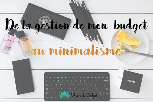 gestion budget minimalisme