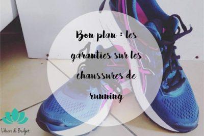 Garantie chaussures de running