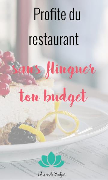 7 astuces pour continer à profiter du restaurant